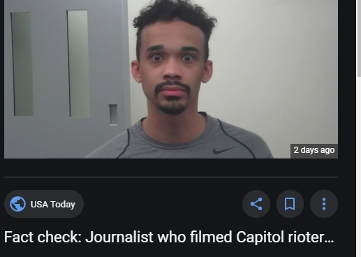 Có phải một người quay phim cuộc nổi loạn ngày 6/1/2021 ở Quốc Hội là phóng viên CNN?